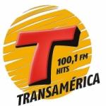 Logo da emissora Rádio Transamérica Hits 100.1 FM