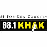 Logo da emissora Radio KHAK 98.1 FM