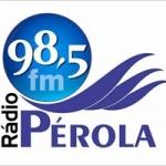 Logo da emissora Rádio Pérola 98.5 FM