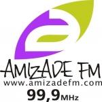 Logo da emissora Rádio Amizade 99.9 FM