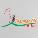 Logo da emissora Rádio Thermas 98.7 FM