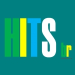 Logo da emissora Rádio Hits BR