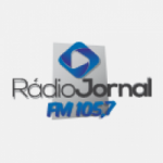 Logo da emissora Rádio Jornal 105.7 FM