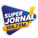 Logo da emissora Rádio Super Jornal 105.7 FM