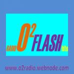 Logo da emissora Rádio O2 Flash Hits