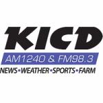 Logo da emissora Radio KICD 1240 AM 98.3 FM