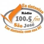 Logo da emissora Rádio São José 100.5 FM
