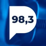 Logo da emissora Rádio Porto Gravatá 98.3 FM