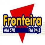 Logo da emissora Rádio Fronteira 570 AM