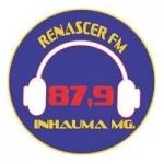 Logo da emissora Rádio Renascer 87.9 FM