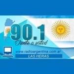 Logo da emissora Radio Argentina 90.1 FM