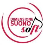 Logo da emissora Radio Dimensione Suono Soft Centro 105.3 FM