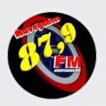 Logo da emissora Rádio Navegantes 87.9 FM