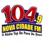 Logo da emissora Radio Nova Cidade 104.9 FM