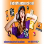 Logo da emissora Rádio Mirandense Brasil