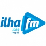 Logo da emissora Rádio Ilha 102.9 FM