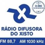 Logo da emissora Rádio Difusora do Xisto 1030 AM