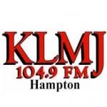 Logo da emissora KLMJ 104.9 FM
