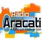 Logo da emissora Rádio Aracati