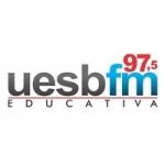 Logo da emissora Rádio UESB 97.5 FM