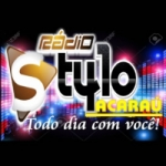 Logo da emissora Rádio Stylo Acaraú