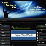 Logo da emissora Rádio FM Vida Nova