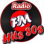 Logo da emissora Radio FM Hits 80s