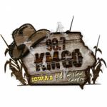 Logo da emissora Radio KMGO 98.7 FM