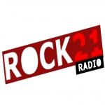 Logo da emissora Rock21 Radio