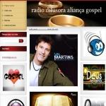 Logo da emissora Rádio Difusora Aliança Gospel