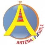 Logo da emissora Rádio Antena A 103.1 FM