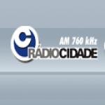 Logo da emissora Rádio Cidade 760 AM