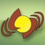 Logo da emissora Rádio Santa Cruz 1090 AM