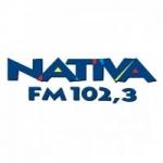 Logo da emissora Rádio Nativa 102.3 FM