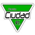 Logo da emissora Radio Ciudad 91.3 FM