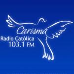 Logo da emissora Radio Católica Carisma 103.1 FM