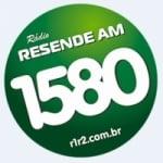 Logo da emissora Rádio Resende 1580 AM