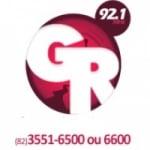 Logo da emissora Rádio Grande Rio 92.1 FM