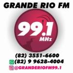 Logo da emissora Rádio Grande Rio FM 99.1