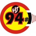 Logo da emissora Radio Hits and Jams 94.1 FM