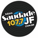 Logo da emissora Rádio Saudade JF 107.7 FM