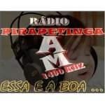 Logo da emissora Rádio Pirapetinga 1490 AM