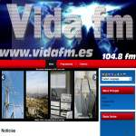 Logo da emissora Radio Vida 104.8 FM