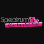 Logo da emissora Radio Spectrum FM 89.8