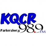 Logo da emissora KQCR 98.9 FM