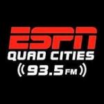 Logo da emissora Radio KJOC ESPN 93.5 FM