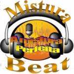 Logo da emissora Mistura Beat Mania de Vinil