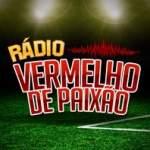 Logo da emissora Rádio Vermelho de Paixão