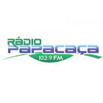 Logo da emissora Rádio Papacaça 102.9 FM