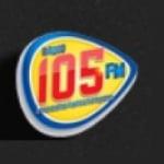Logo da emissora Rádio 105 FM Utinga